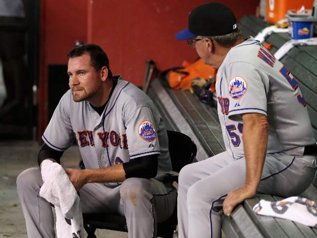 The Dry Desert Air Doesn't Agree With Mike Pelfrey