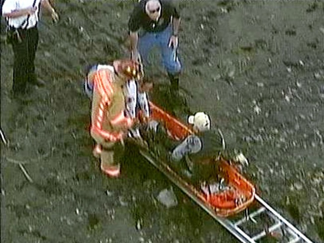 Elderly Jersey Man Gets Stuck in Mud for Hours