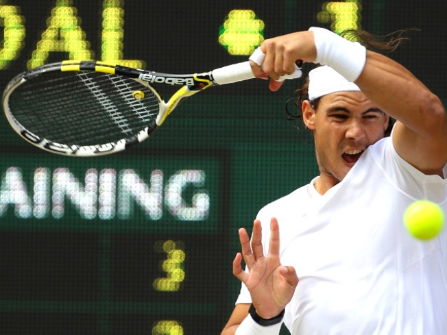 Rafael Nadal Wins at Wimbledon