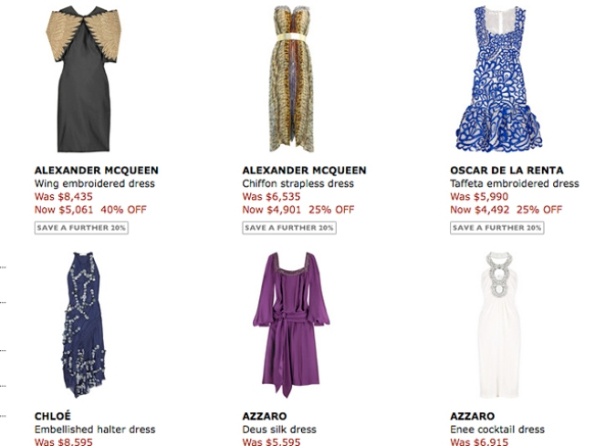 Net-a-Porter: Now Even Cheaper