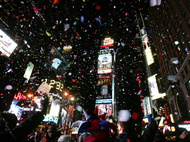 1 Million Watched Ball Drop to Ring in '11