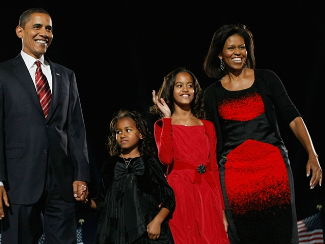 Critics Weigh In: Michelle Obama's Election Night Dress ...