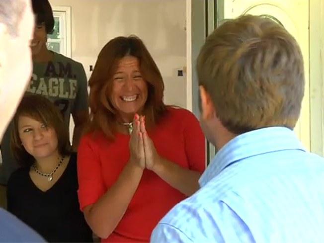 Three-Hankie Reveal: Fire-Ravaged Family Home Restored