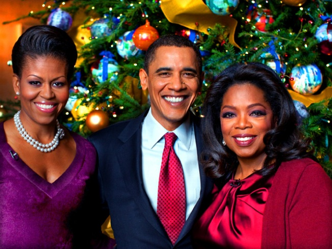 Scoop: Winfrey Doesn't Grill President in Holiday Show