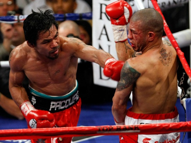 Manny Pacquiao Wins Megafight With Bloody TKO