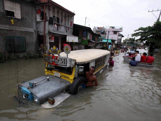 Second Typhoon in Eight Days Ravages Philippines