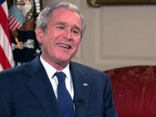 Bush Says Goodbye to Nation Tonight