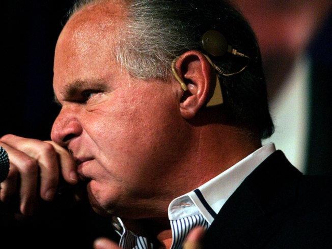 Rush Limbaugh Makes Racist Quip About Paterson