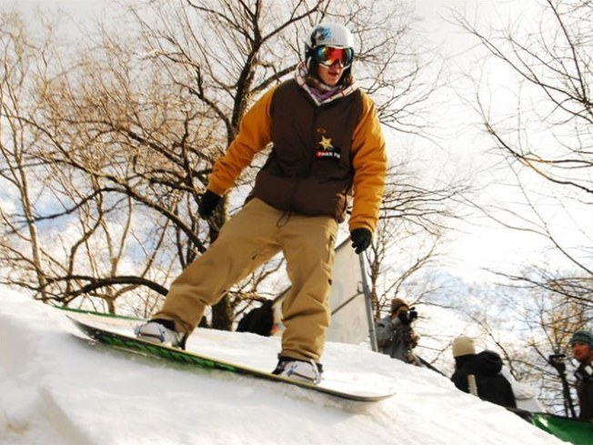 On Saturday, Ski + Board in Central Park