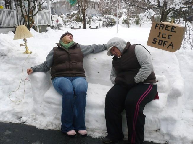 Thousands Still Without Power in Snowbound Region