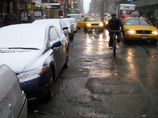Precipitation Ends Early Sunday