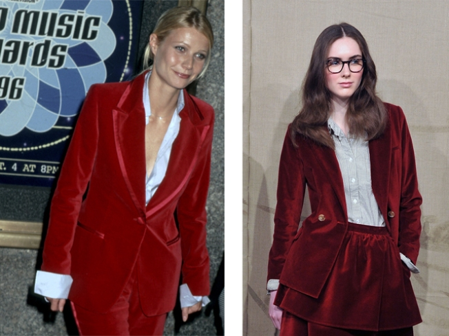 Free Associations: The Red Velvet Suit