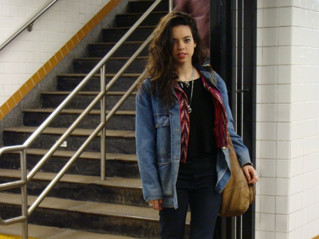 Subway Street Style: Cyd at the Lorimer Stop