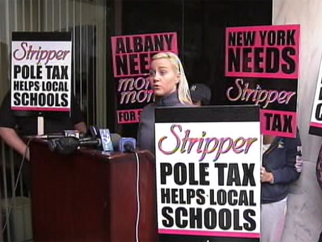 "Strippers Call for New York ""Pole"" Tax"