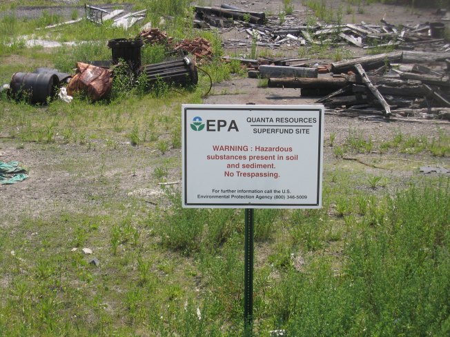 Feds Planning to Delist North NJ Superfund Site