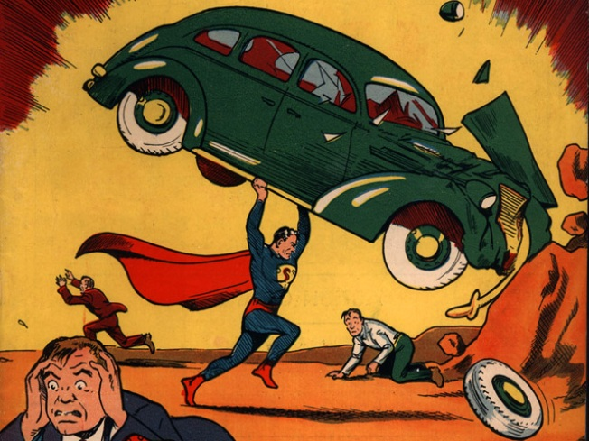 Superman Comic Sets Record Sale