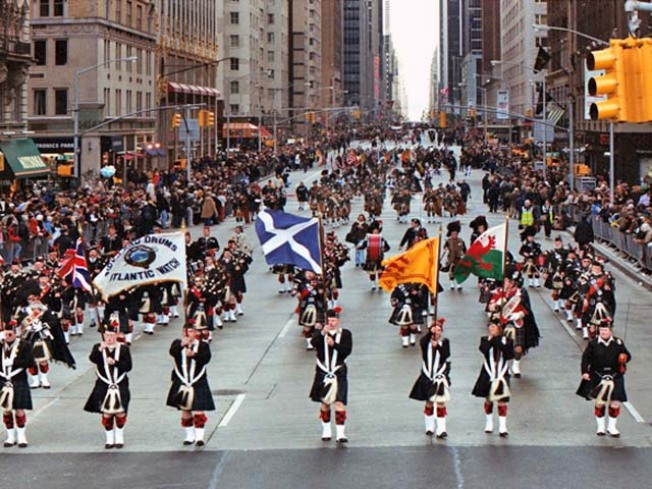 Great Scots! Tartan Day Parade First to Be Cut Short