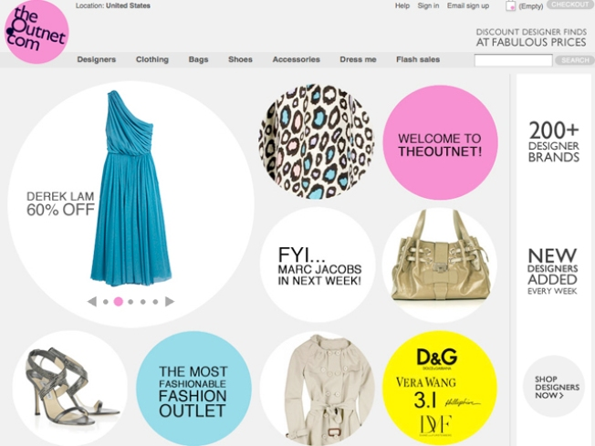 Designers on Sale: TheOutnet.com Launches!