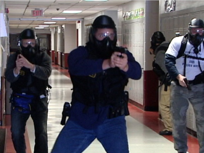 Columbine Training for Cops With Almost Real Bullets