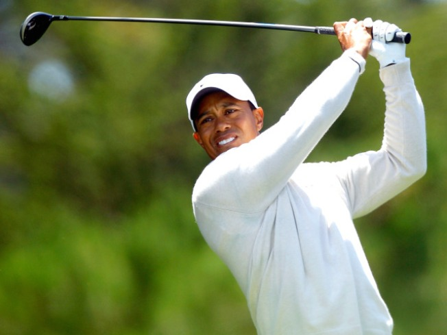 Johnson Leads the U.S. Open; Tiger Not Far Behind