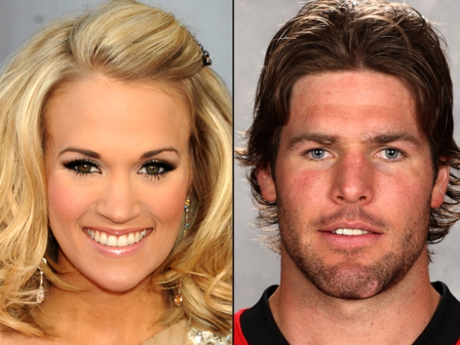 Rep: Carrie Underwood & Mike Fisher