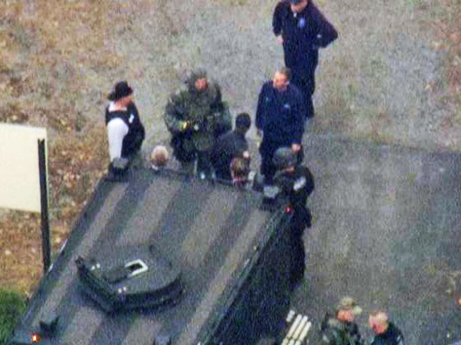 Gunman at NY High School in Custody
