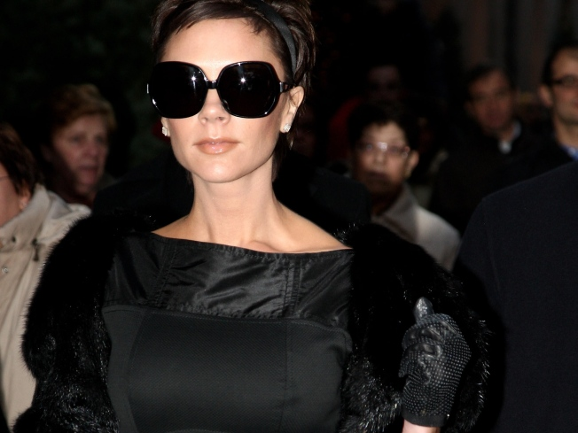 Victoria Beckham Poshes Up SpongeBob SquarePants