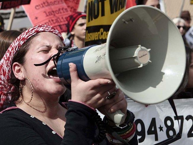 Few Show for Times Square Protest on U.S. Iraq Invasion Anniversary