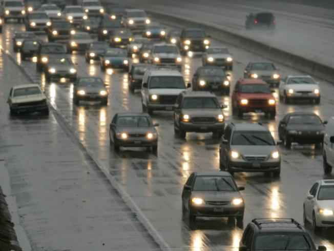 Slick Roads Hamper Morning Commute