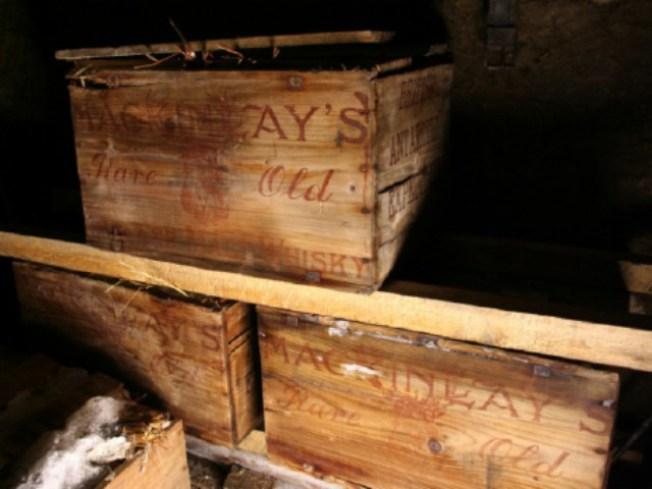 Century Old Booze Discovered Under Antarctic Ice
