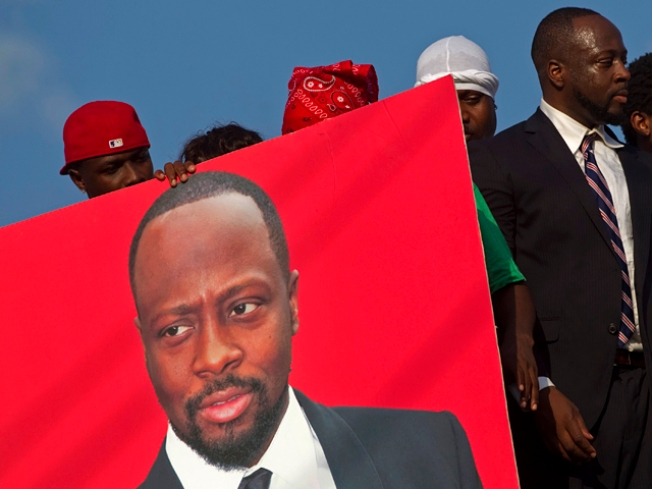 Former Fugee Pras Not Backing Wyclef For President