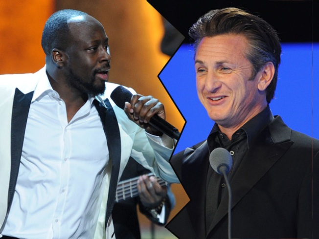 Sean Penn and Wyclef Jean Settle Their Differences Over Haiti