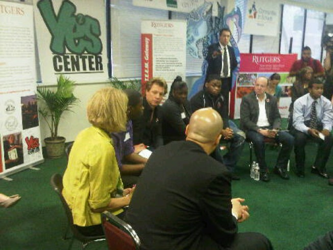 Youth Rock Newark, and Jon Bon Jovi Listens