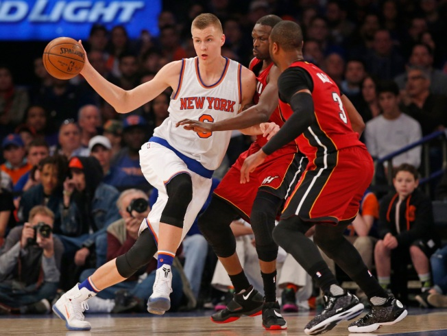 Slumping Knicks Lose 98-81 to Heat