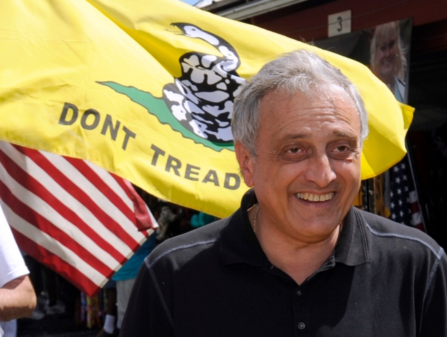 Paladino's Tea Party Express Stays on Track