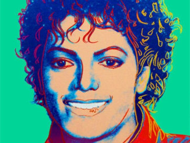Warhol Portrait Of Michael Jackson Up For Auction