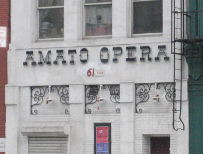 Bowery's Amato Opera to Shutter