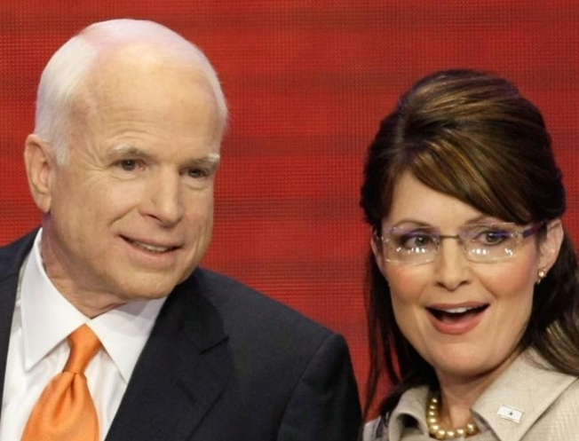 Palin a Tough Act to Follow for McCain