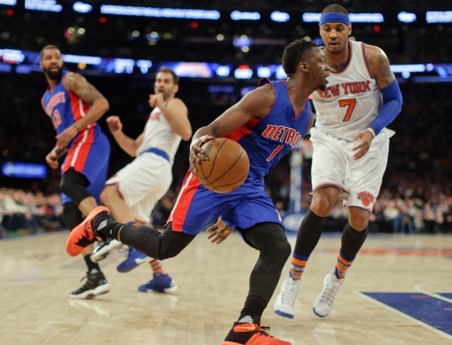 Knicks Punish Pistons 102-89