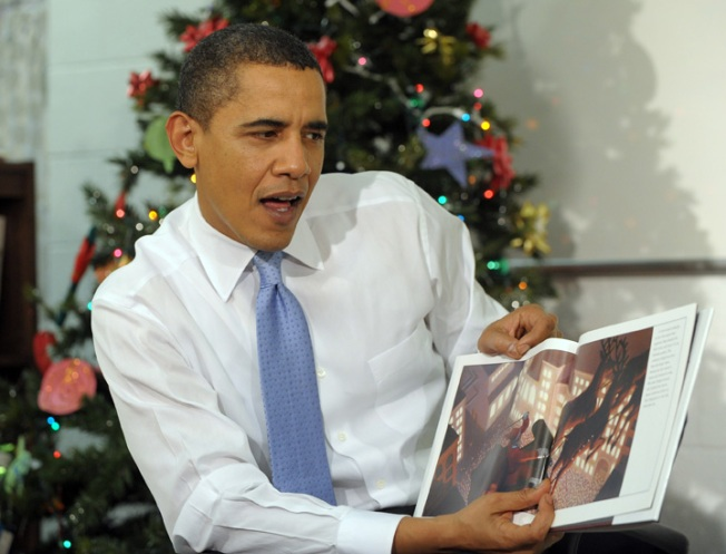 Obama's Christmas Story: Senate Health Bill