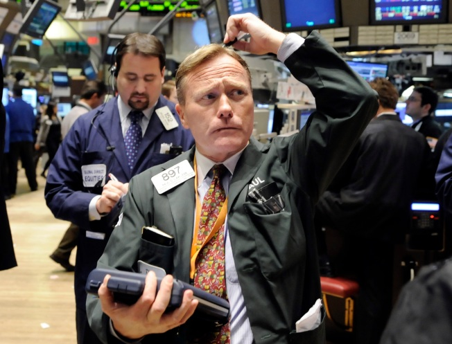 Stocks End Down as Week's Back-and-Forth Continues