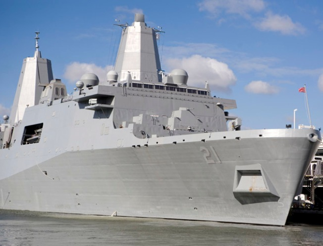 My Day Aboard the USS New York