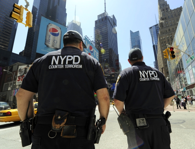 NYPD Counter-Terror Teams Hold Drill
