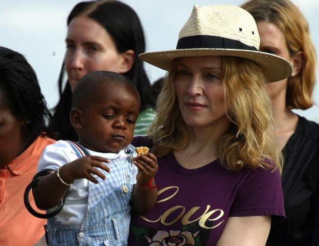 Madonna Files for Second Adoption