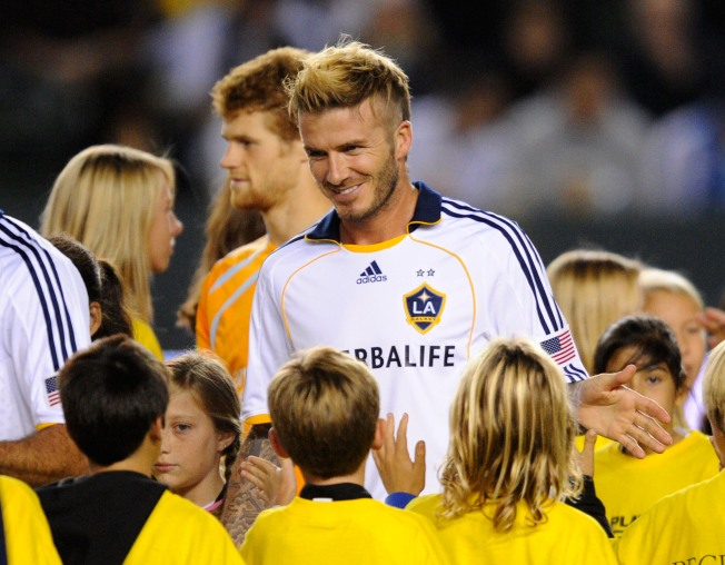 Beckham Could Bring Title to Go With Headlines