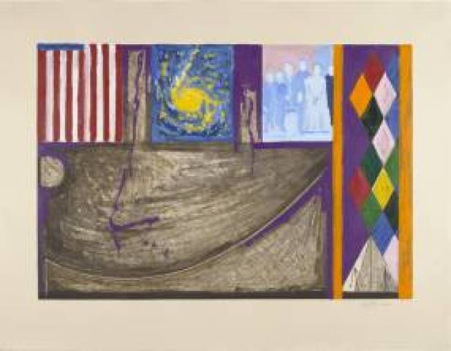 For Jasper Johns Play Not Always That Much Fun