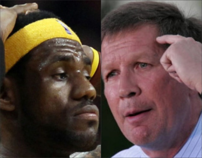 In Ohio, Candidates Get No Bounce by Bashing LeBron