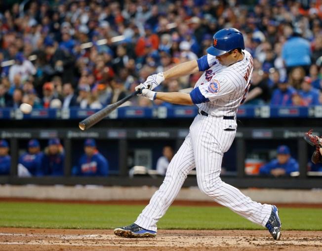 Walker's Single in 9th Lifts Mets Over Giants 4-3