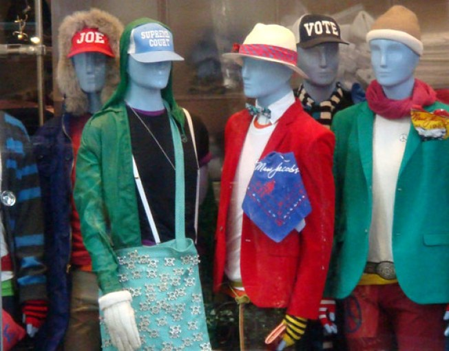 In the Window: Marc Jacobs Men Goes to the Joes