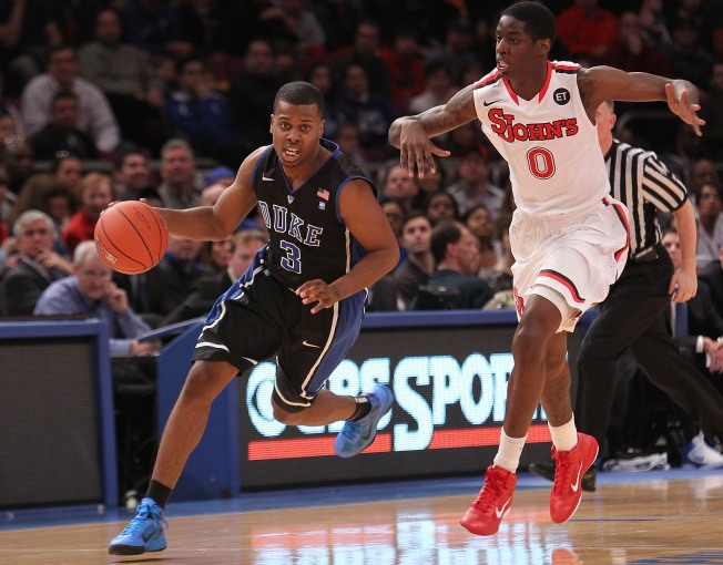 St. Johns Shocks No. 3 Duke:  93-78
